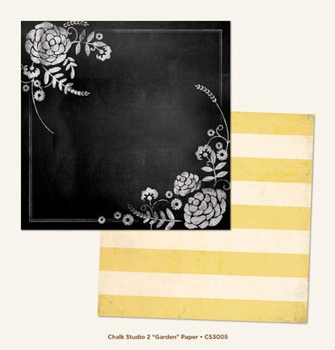 Двусторонняя бумага Garden 30х30 см от My Mind's Eye