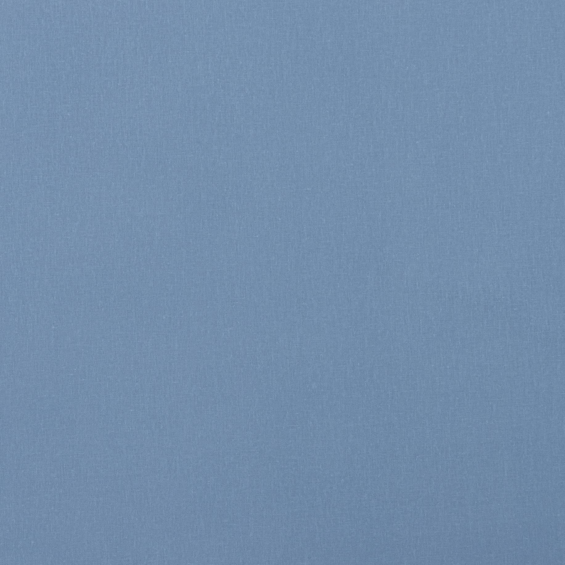 Бязь гладкокрашеная, голубой, плотность 120, 50x55, хлопок 100%