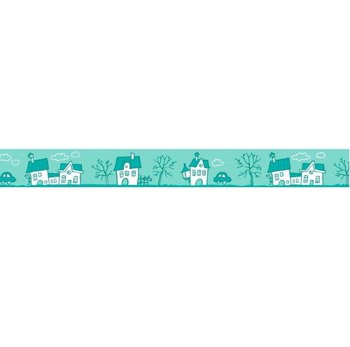 Бумажный скотч Зайка Mи. Городок 15mm*8m от Scrapberry's