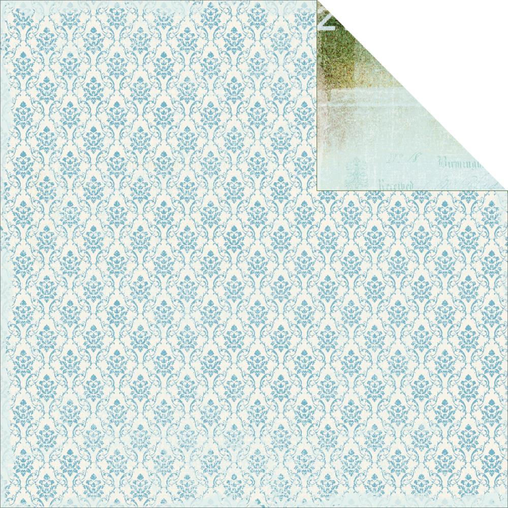 Двусторонняя бумага Magnetizing 30х30 см от Kaisercraft