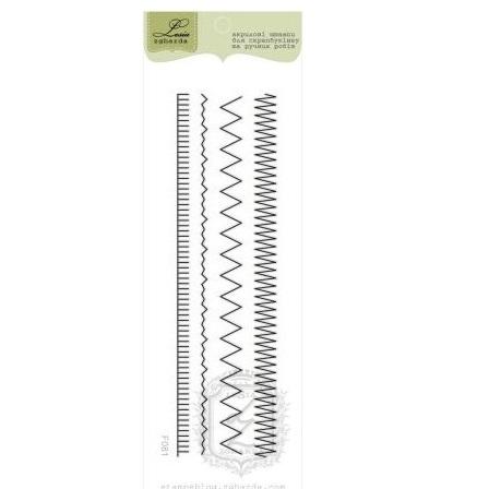 """Акриловый штамп """"Швейные стежки"""", 9 см от Lesia Zgharda"""