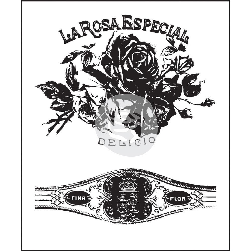 Акриловый штамп Cigar Box Secret , 6,3х7,6 см от компании Prima