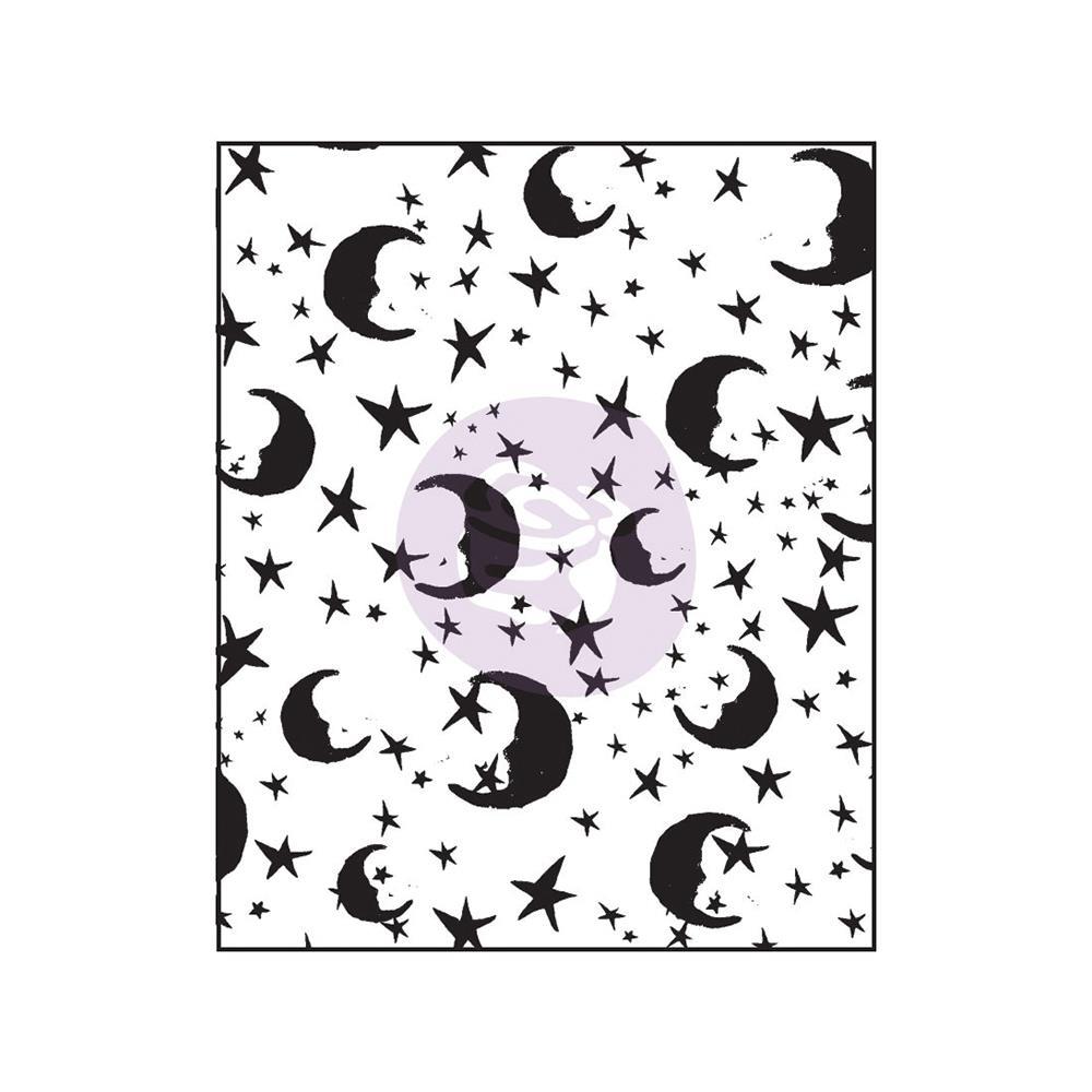Акриловый штамп Moons & Stars , 6,3х7,6 см от компании Prima
