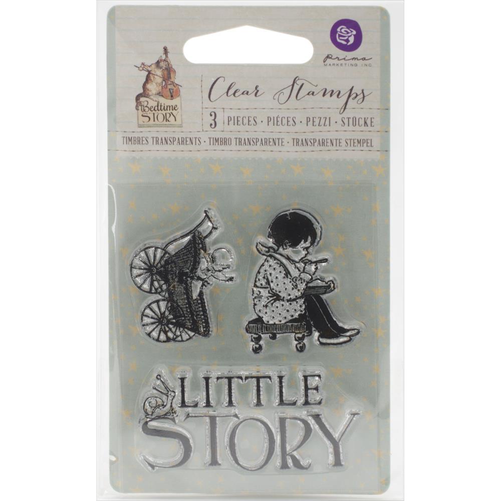 Акриловый штамп Little Story, 6,3х7,6 см от компании Prima