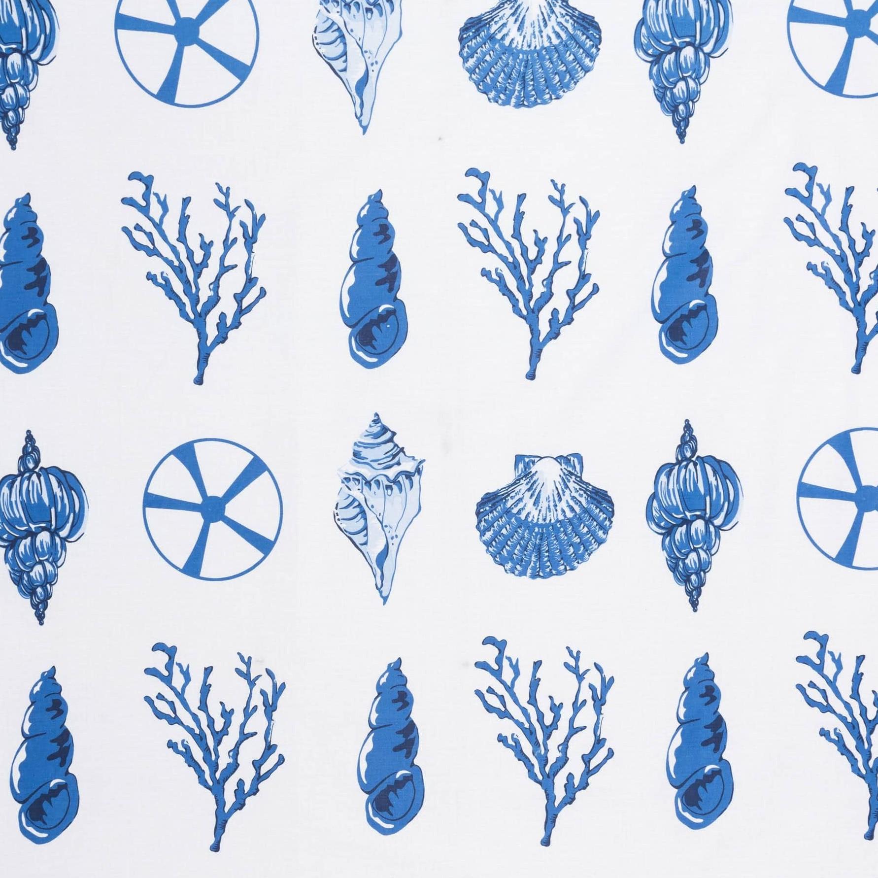Бязь набивная голд Подводный мир, размер 50х70 см, хлопок 52%, полиэстер 48%, плотность 120