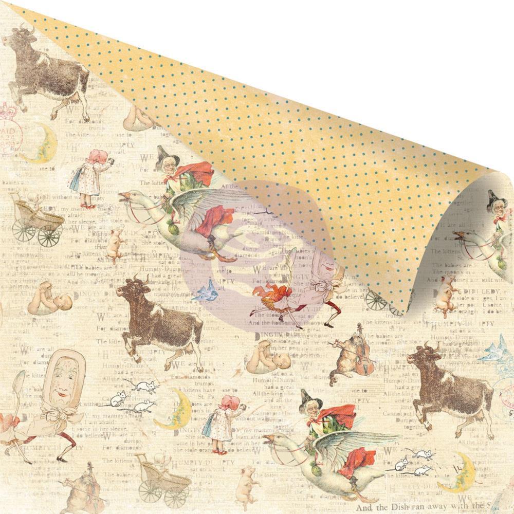 Двусторонняя бумага Bedtime Story, 30х30 см от компании Prima
