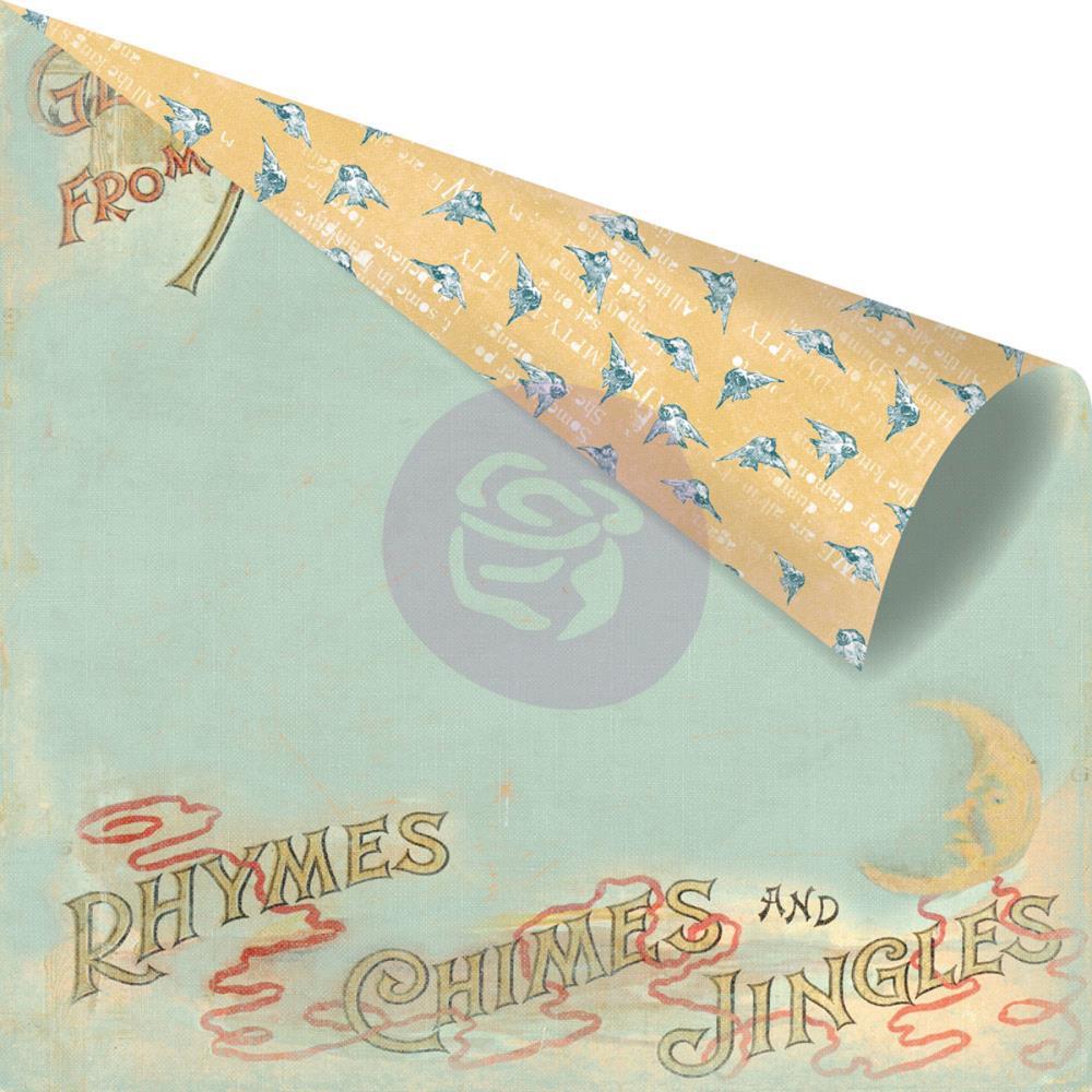 Двусторонняя бумага Mother Goose, 30х30 см от компании Prima
