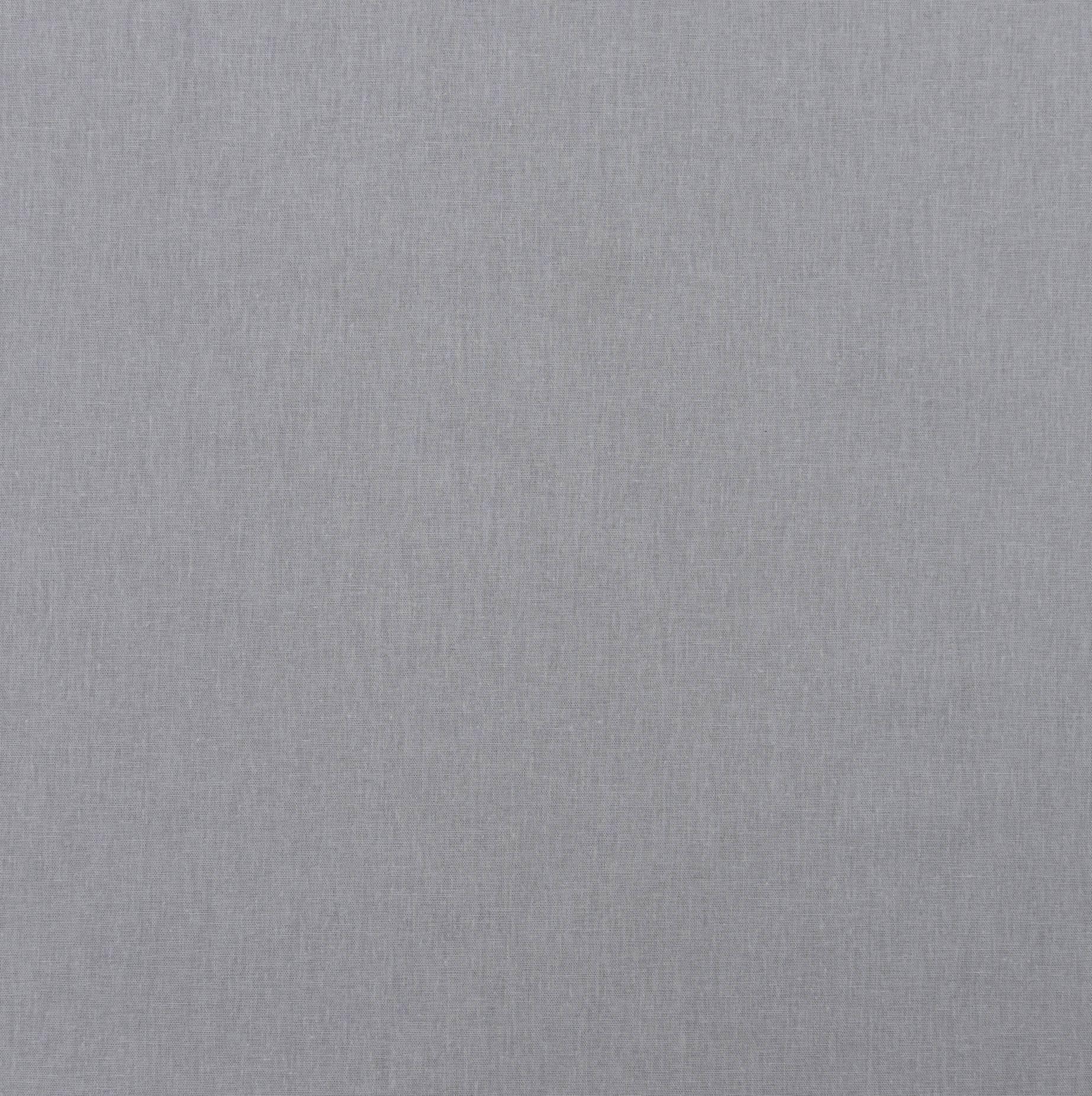 Бязь гладкокрашеная серый, 120+/-5 г/м2, 50х55 см, хлопок 100%