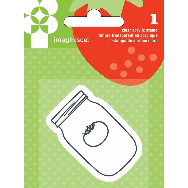 Акриловый штамп  Jar от Imaginisce