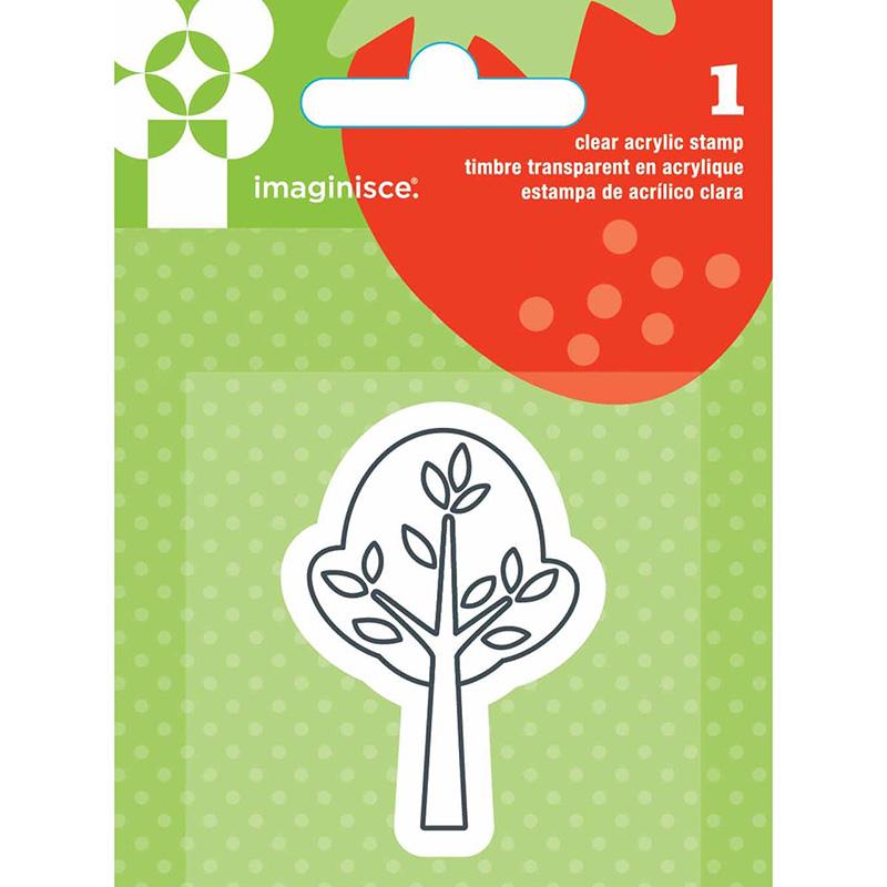 Акриловый штамп Tree от Imaginisce