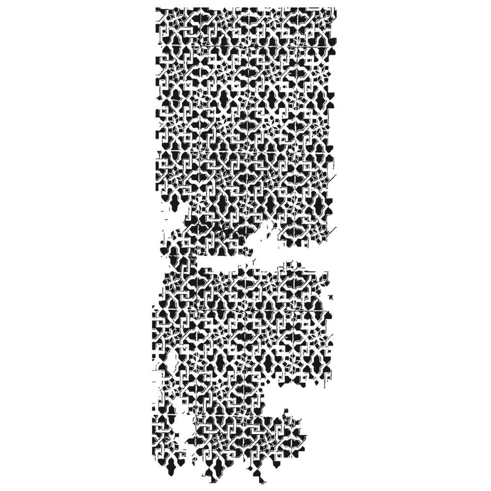 Акриловый штамп Lattice 13 х 5 см от Kaisercraft