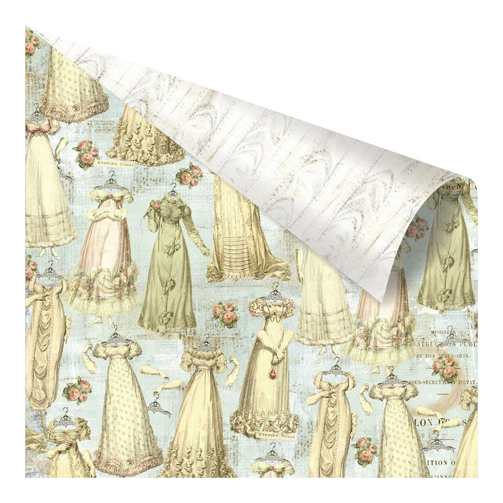 Двусторонняя бумага Gowns Galore, 30х30 см от компании Prima