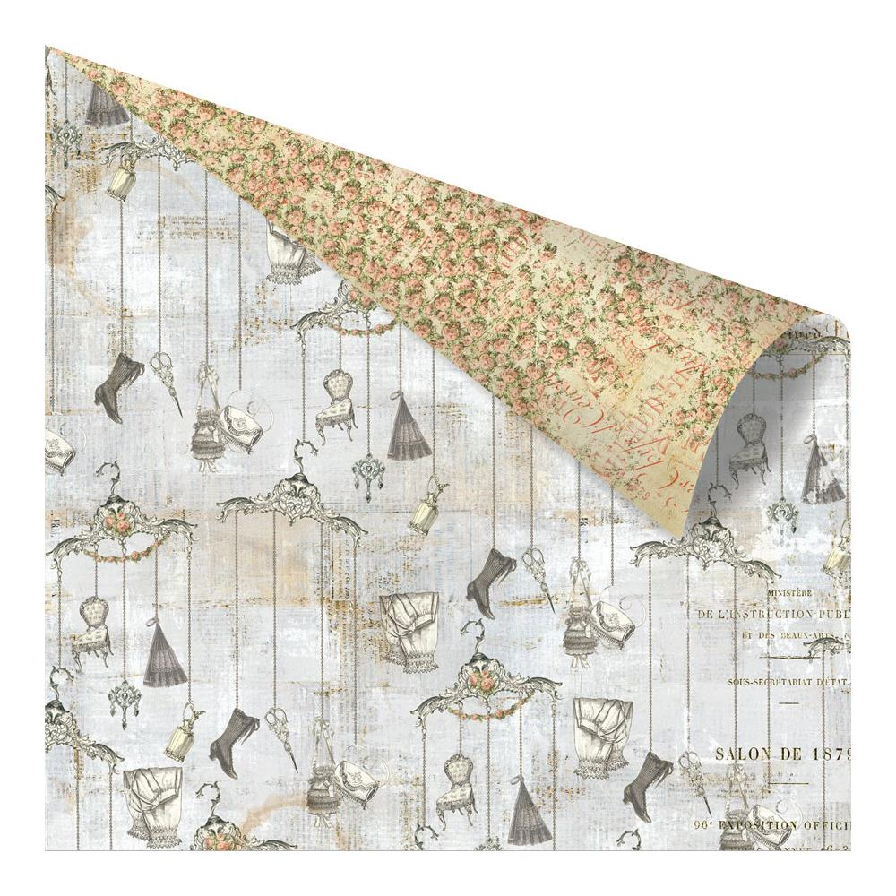 Двусторонняя бумага Accessories Romantica, 30х30 см от компании Prima