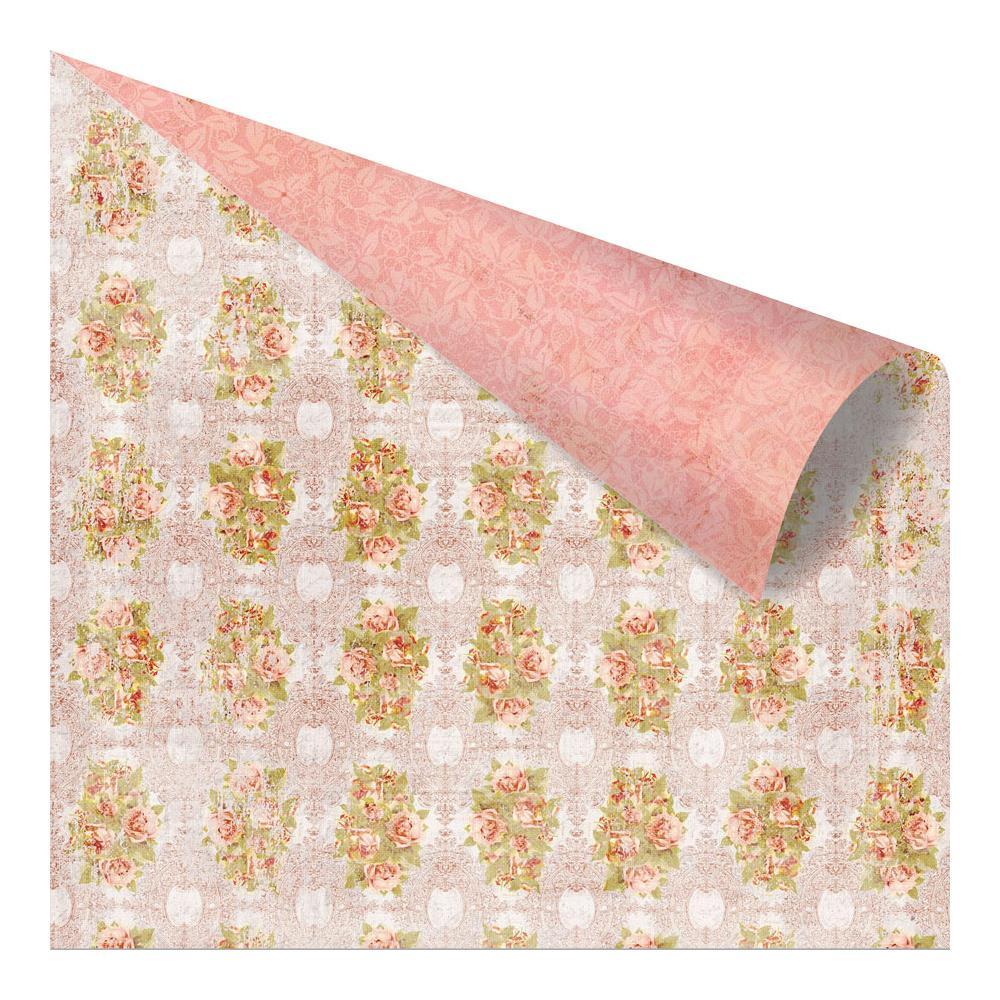 Двусторонняя бумага Regency Roses, 30х30 см от компании Prima