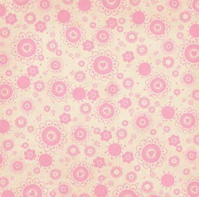 Двусторонняя скрапбумага Crazy Love Dot от Bo Bunny