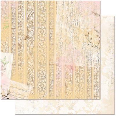 Двусторонняя скрапбумага Country Garden Letters от Bo Bunny