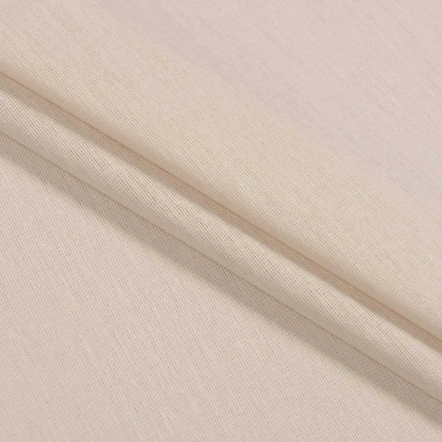 Бязь, персиковый, 50х50 см, хлопок 100%, 125 г/м²