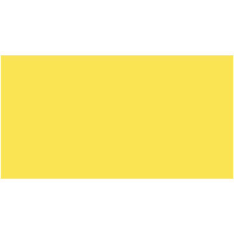 Бумага для дизайна Tonkarton А3 ,29,7х42см, №12 лимонный, 180г/м2, без текстуры, Folia