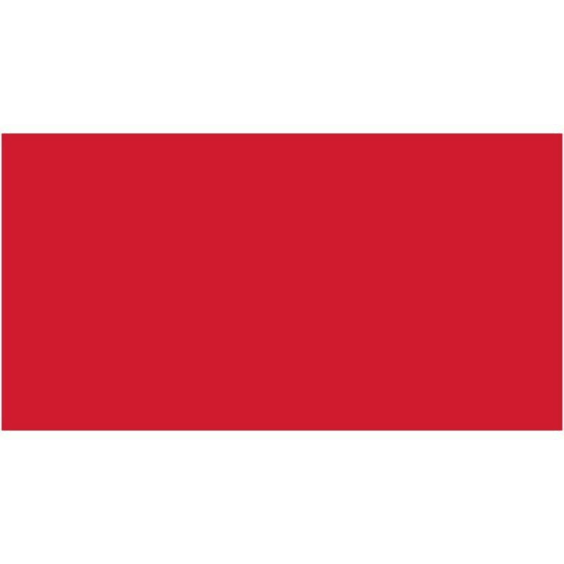 Бумага для дизайна Tonkarton А3 ,29,7х42см, №20 красный, 180г/м2, без текстуры, Folia
