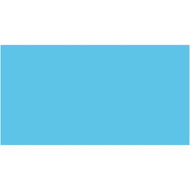 Бумага для дизайна Tonkarton А3 ,29,7х42см, №30 небесно-голубой, 180г/м2, без текстуры, Folia