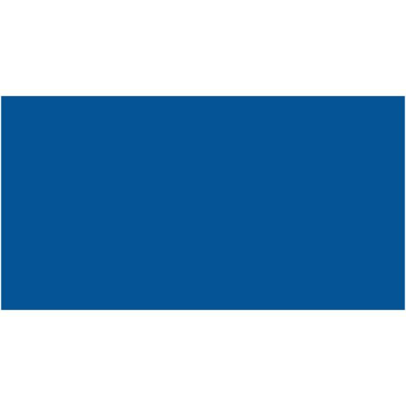 Бумага для дизайна Tonkarton А3 ,29,7х42см, №35 королевский синий, 180г/м2, без текстуры, Folia