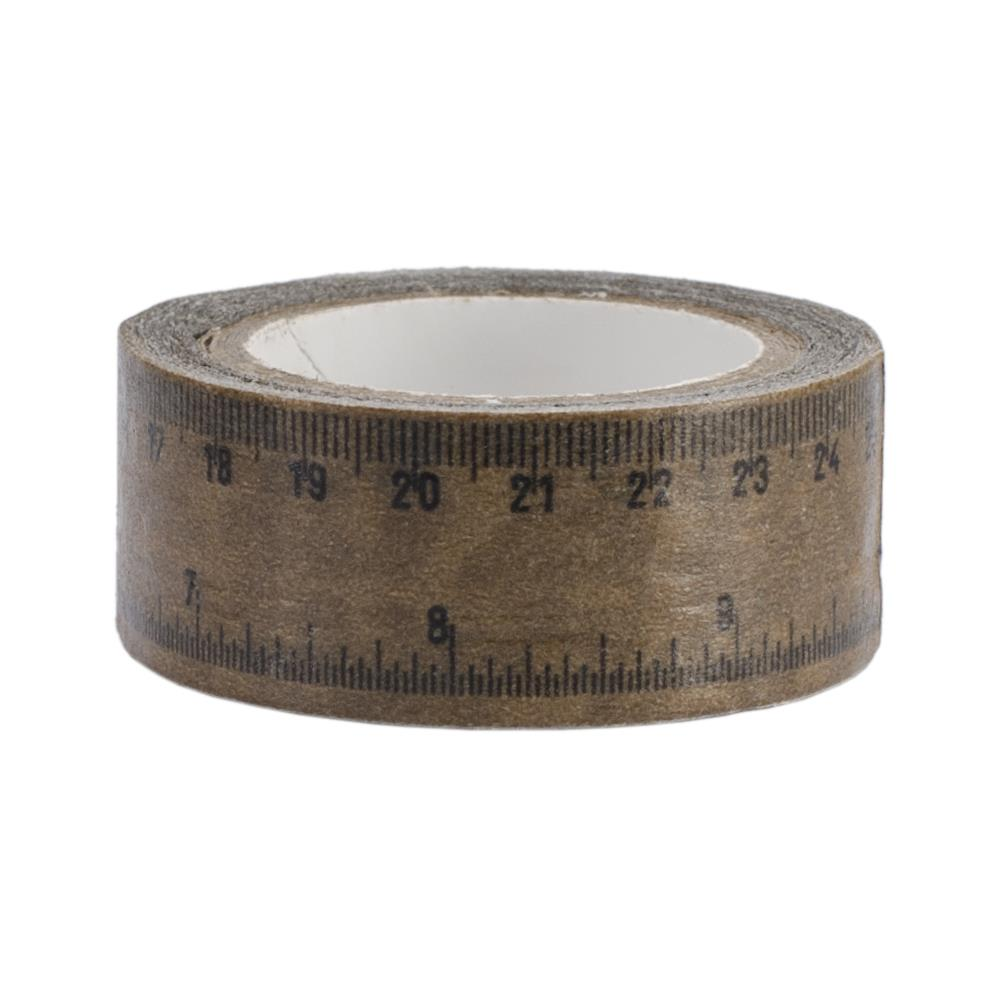 Бумажный скотч на клеевой основе Ruler 5 м, 15 мм от Kaisercraft