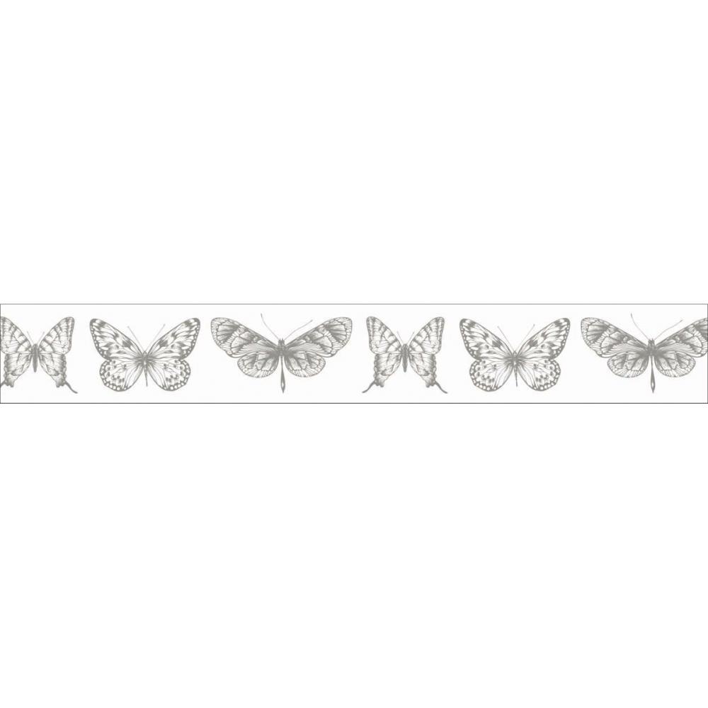 Бумажный скотч на клеевой основе Butterflies 5 м, 15 мм от Kaisercraft