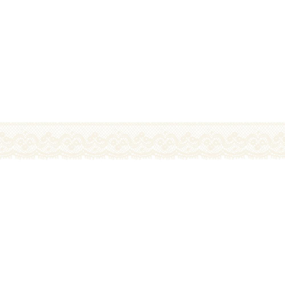 Бумажный скотч на клеевой основе Lace 5 м, 15 мм от Kaisercraft