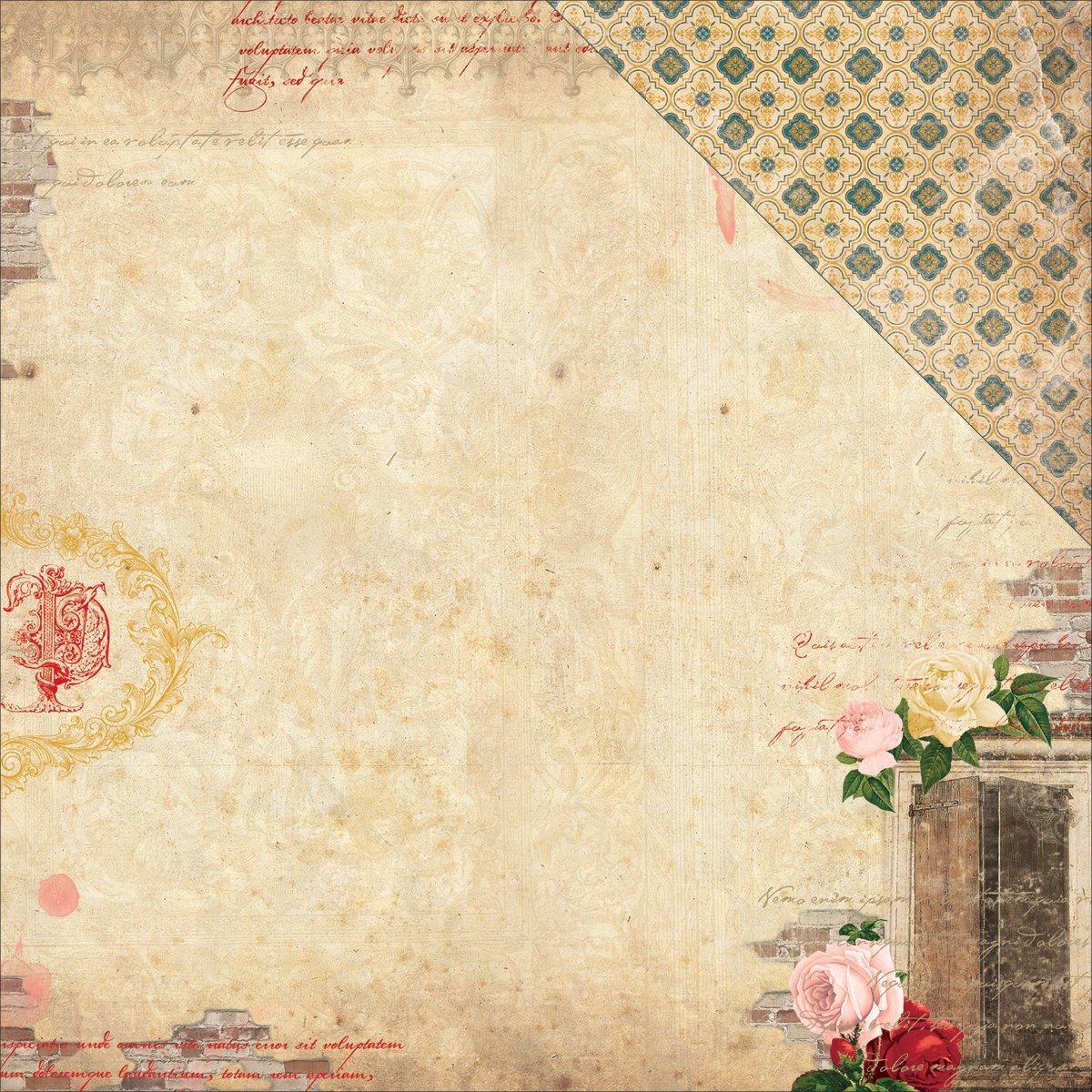 Двусторонняя бумага Verona 30х30 см от Bo-Bunny