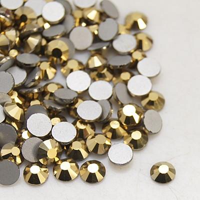 Набор страз золотистого цвета, 4 мм, 20 шт.