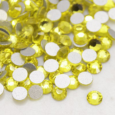 Набор страз лимонного цвета, 4 мм, 20 шт.