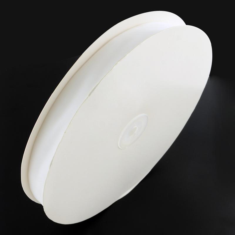 Белая вельветовая лента, ширина 19.1 мм, 90 см