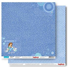 Двусторонняя бумага Звезды Вокруг 30,5х30,5 см от ScrapBerry's