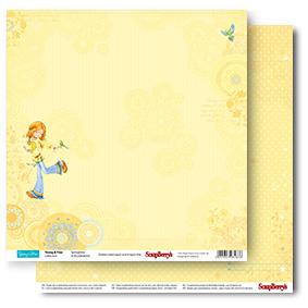 Двусторонняя бумага Весна 30,5х30,5 см от ScrapBerry's
