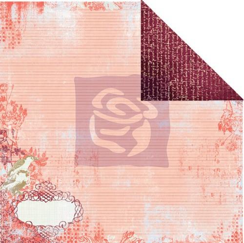 Двусторонняя бумага для скрапбукинга Cabana Paradise City от Prim