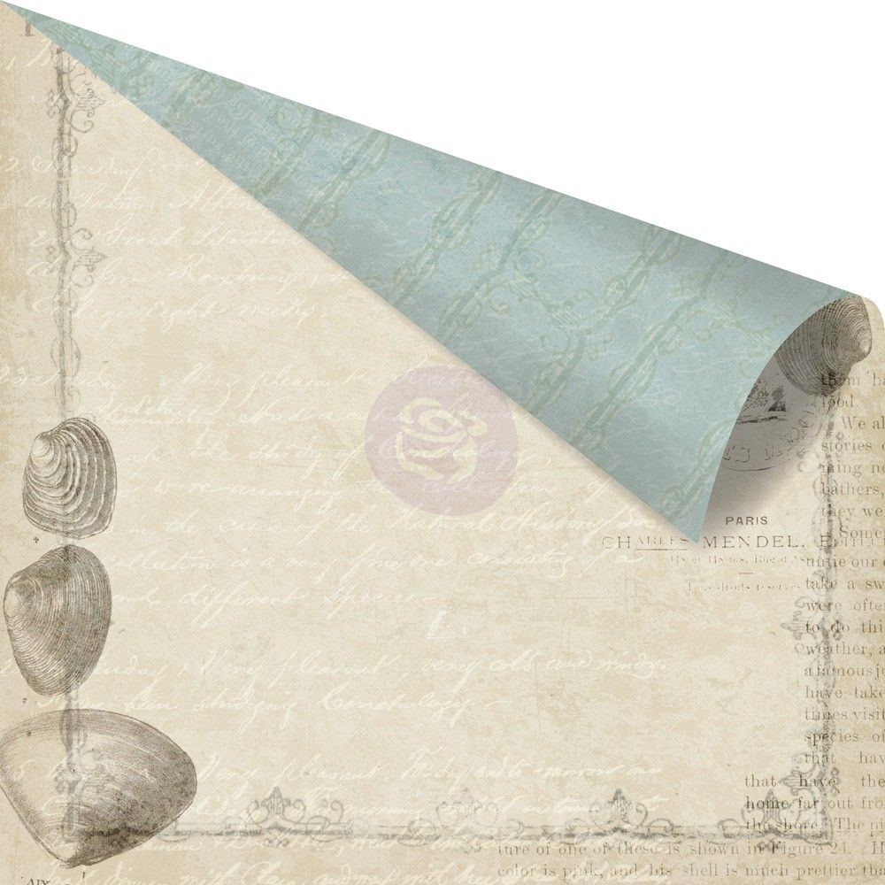 Двусторонняя бумага 30х30 Seashore - Shore Side от Prima
