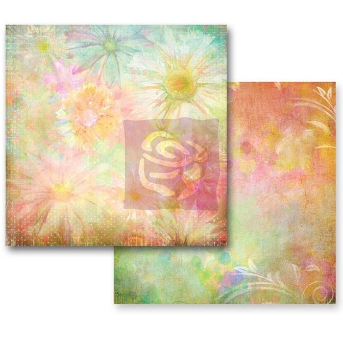Двусторонняя бумага для скрапбукинга Sunlight Daisies от Prima