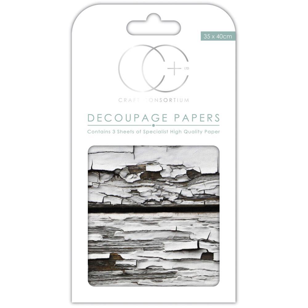 Бумага для декупажа Distressed Wood,1 лист, 35*40 см от Craft Consortium