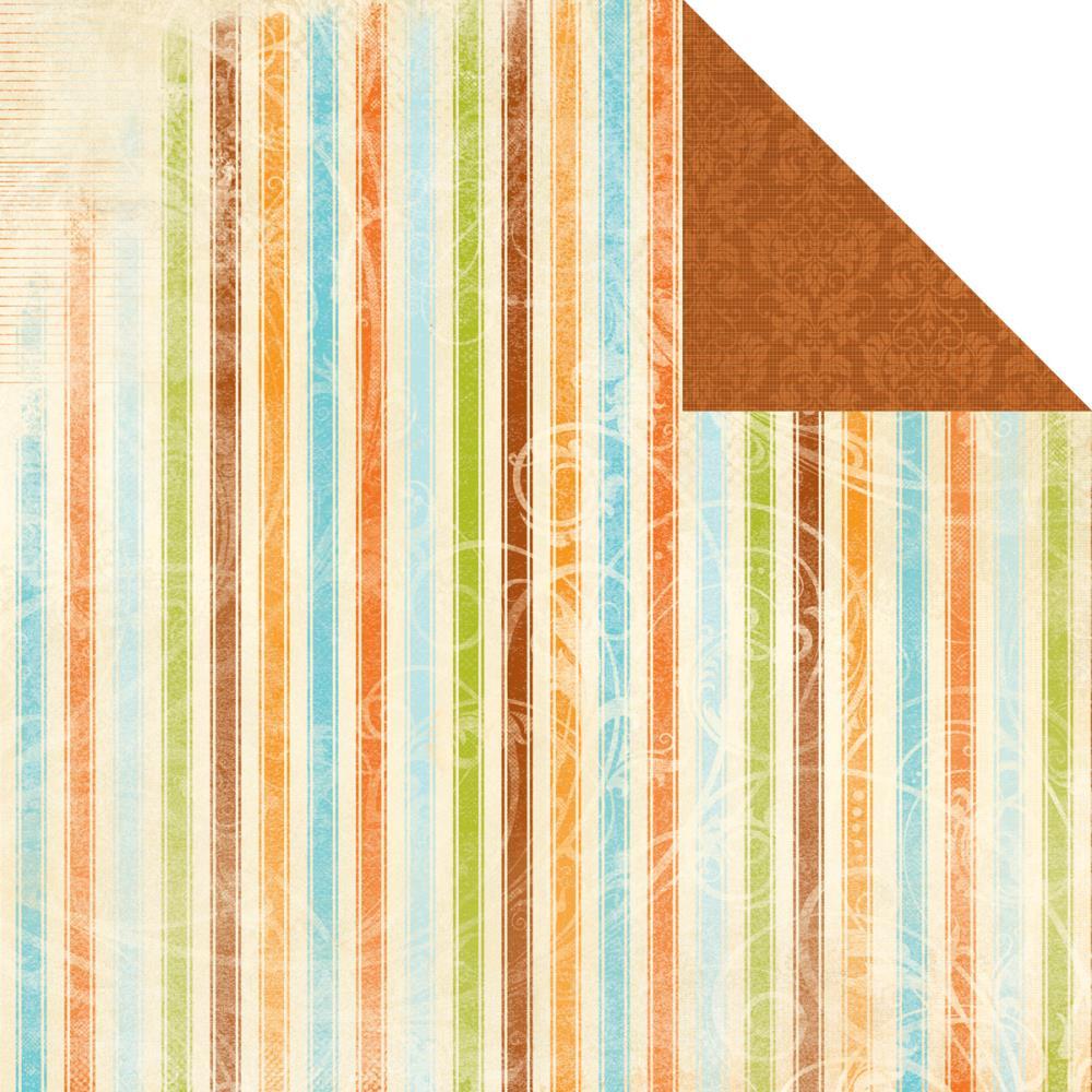 Двусторонняя бумага Clarabelle 30х30 от Kaisercraft