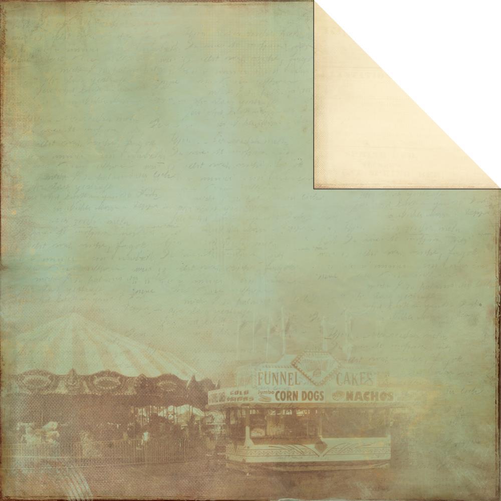 Двусторонняя бумага Carousel 30х30 от Kaisercraft