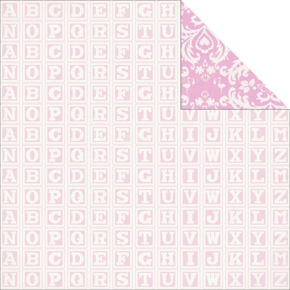 Двусторонняя бумага Baby Talk 30х30 от Kaisercraft