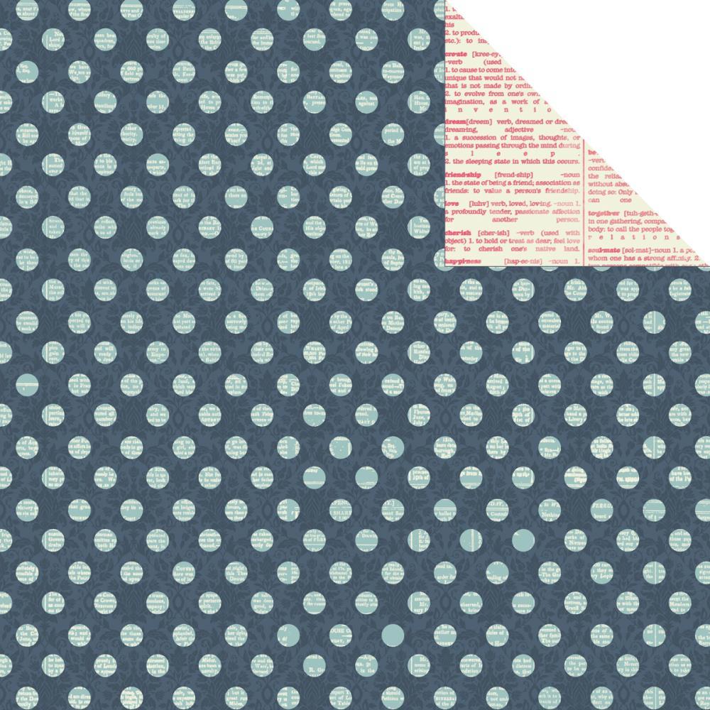 Двусторонняя бумага Graceful 30х30 от Kaisercraft