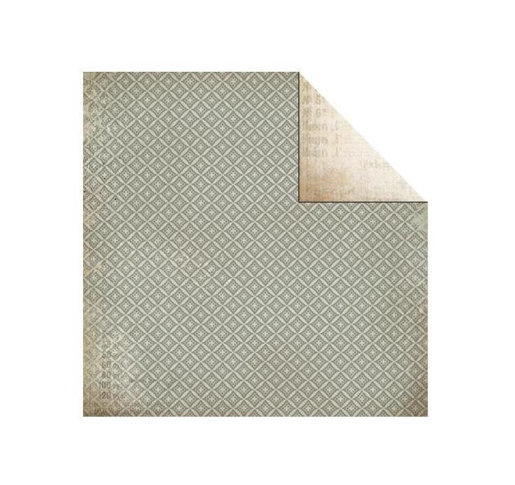 Двусторонняя бумага Cottage с лаковыми элементами 30х30 от Kaisercraft