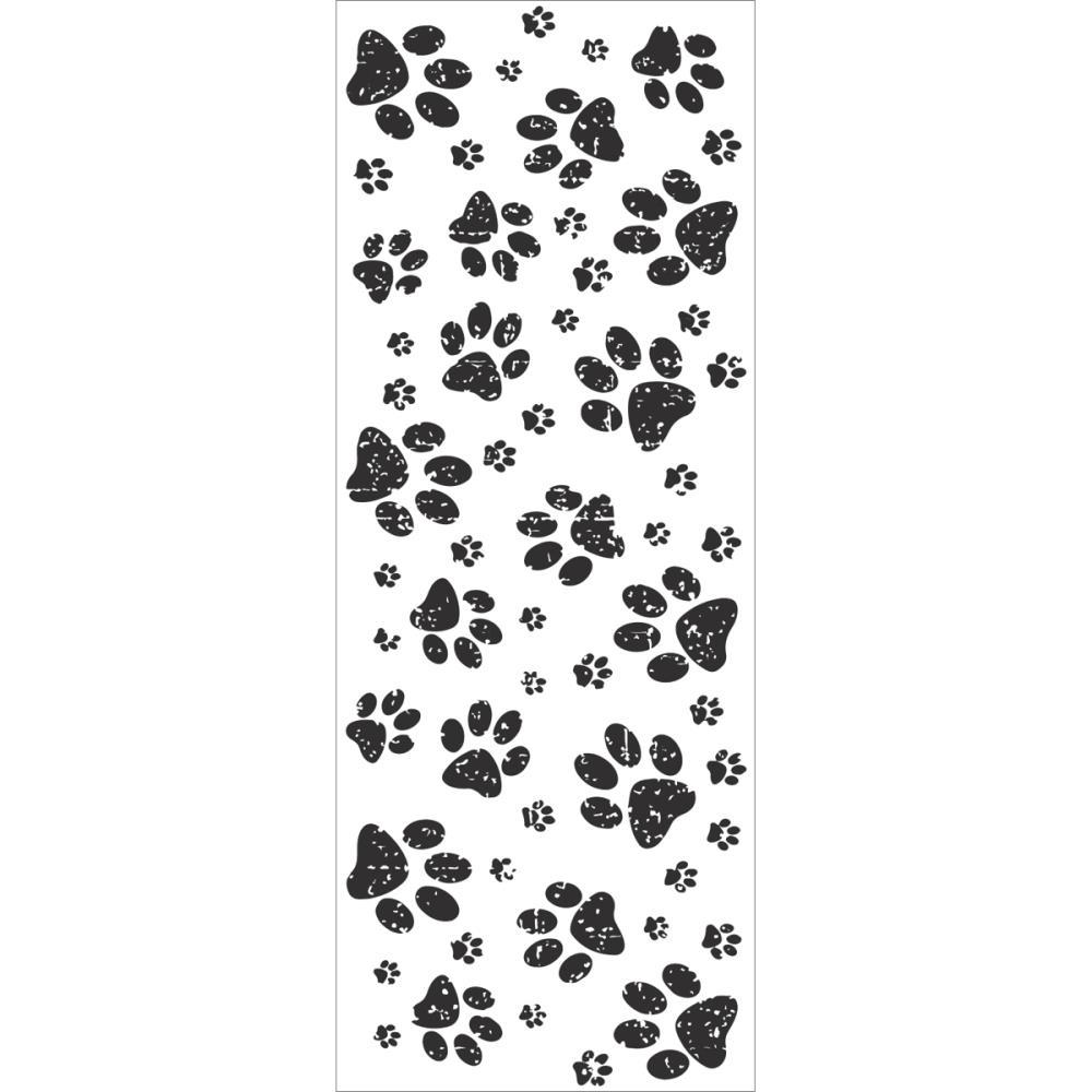 Акриловый штамп Paw Prints 13х5 см от Kaisercraft