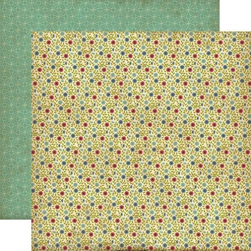 Двусторонняя бумага Swanky Floral 30х30 см от Echo Park