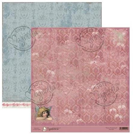 Бумага для скрапбукинга Peaceful 30*30 см от Magnolia