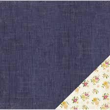 Двусторонняя бумага Denim 30*30 см от American Crafts