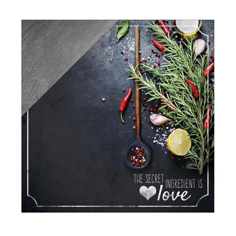 Двусторонняя бумага Secret Ingredients, 30*30 см, 1 лист от Paper House