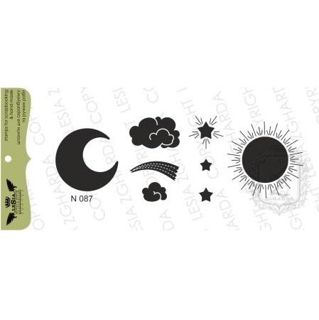 "Акриловый штамп ""Солнце, звезды, тучки.... "" от Lesia Zgharda"