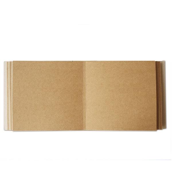 Альбом из крафт-картона 20*20 см, 10 листов от Фабрика Декора